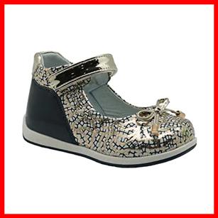 Arakawa Bowtie toddler girls flat feet footgear