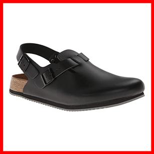 Birkenstock Super Grip Leather Slip Resistant Shoe