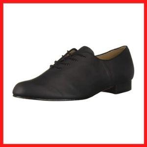 Bloch Dance Men's Jazz Oxford Leather Sole Character Shoe
