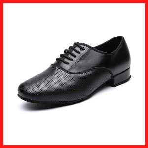 Men's Black Ballroom Latin performance shoe