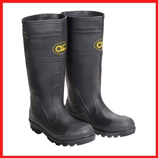 CLC Custom Rain Wear The Sock Black PVC Men's Rain Boot