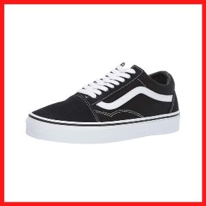 Vans Unisex Old Skool Skate Shoes for College Guys