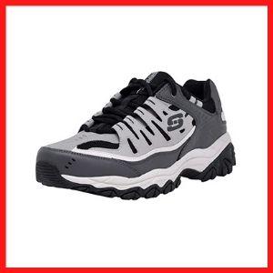 Skechers Memory Foam Lace Up Closure Sneakers For Men