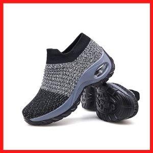 Womens-Walking-Shoes-Sock-Sneakers