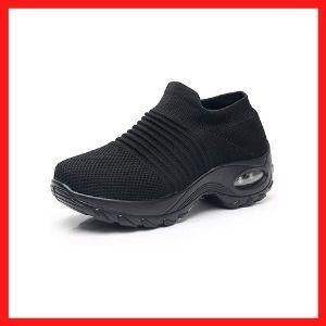 Women's Walking sneakers, mesh slip on Shoes Sock Sneakers - Mesh Slip On tight cushioning.<br />